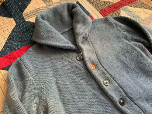 VTG Shawl Collar Cardigan Sweater 30