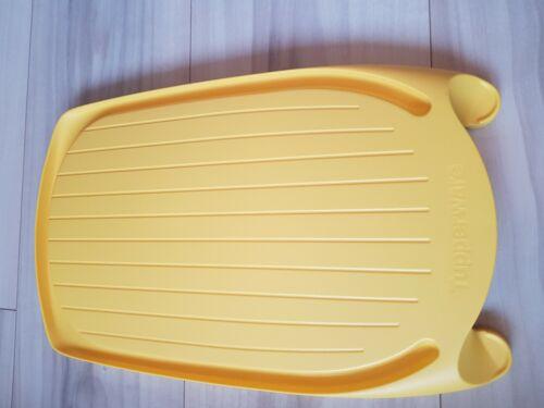 Großes Schneidbrett mit Auffangrille Tupperware SchneidSmart gelb NEU