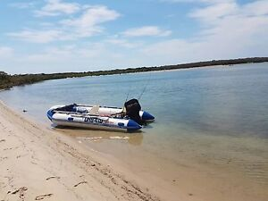 GFW Inflatable Boat IB430 2010 with 40hp Mercury motor & tralier Nundah Brisbane North East Preview