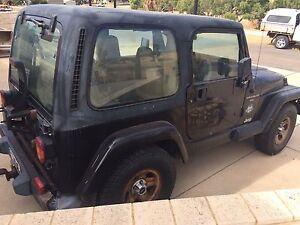 1996 Jeep Wrangler TJ hard top Renegade licenced Horrocks Northampton Area Preview