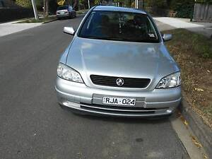 2002 Holden Astra Sedan Box Hill South Whitehorse Area Preview