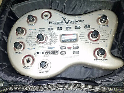 Behringer Bass V-Amp With Foot Pedal in Case