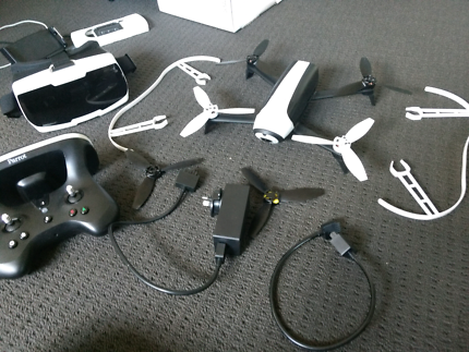 Parrot drone Bebop 2(with extras)