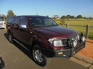 NISSAN NAVARA D40 2006 MODEL AUTO DUAL CAB 4X4 ARB CANOPY Mordialloc Kingston Area Preview