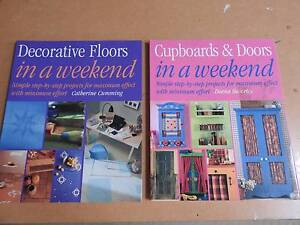 Decorate your Floors and Doors (2) books Riverglades Murray Bridge Area Preview