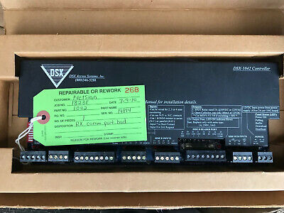 Dsx Access Systems Dsx-1042 Controller 2-door Dsx1042. Refurbished