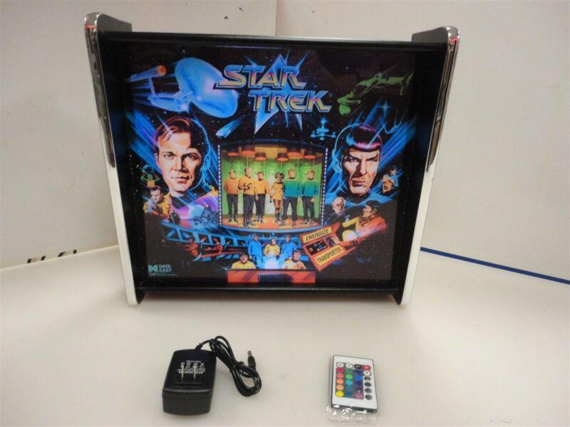 Star Trek Data East Pinball Head LED Display light box
