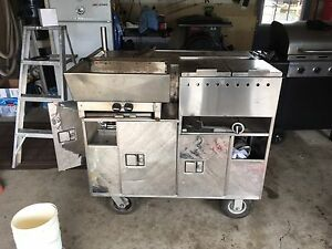 Hot dog cart for sale $1000.00 firm