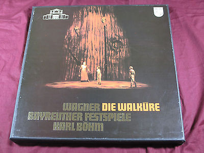 Wagner DIE WALKÜRE  -  Karl Böhm Philips 4 LP-Box near mint