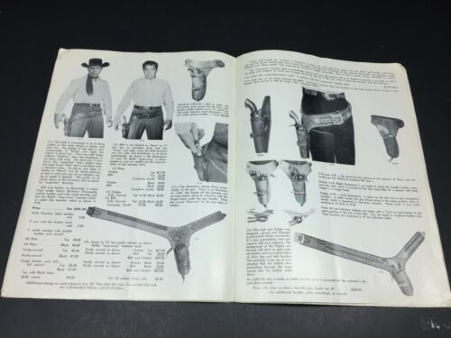 Original 1966 Edward H. Bohlin Catalog Cowboys Hunters Sportsmen Gun Slingers