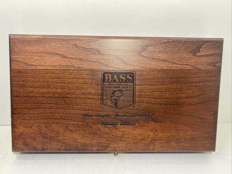 Bass Anglers Sportsman Society Limited Edition Pistol Case Wooden Box