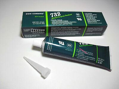 NEW Dow Corning 732 4.7oz Multi-Purpose Best Clear Sealant