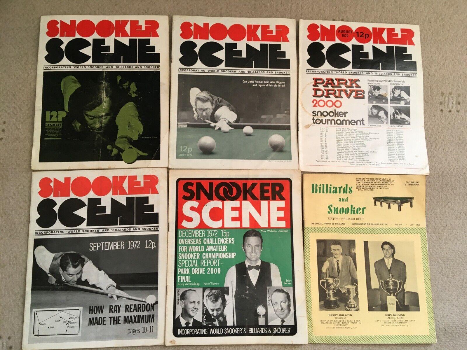 Snooker Magazines