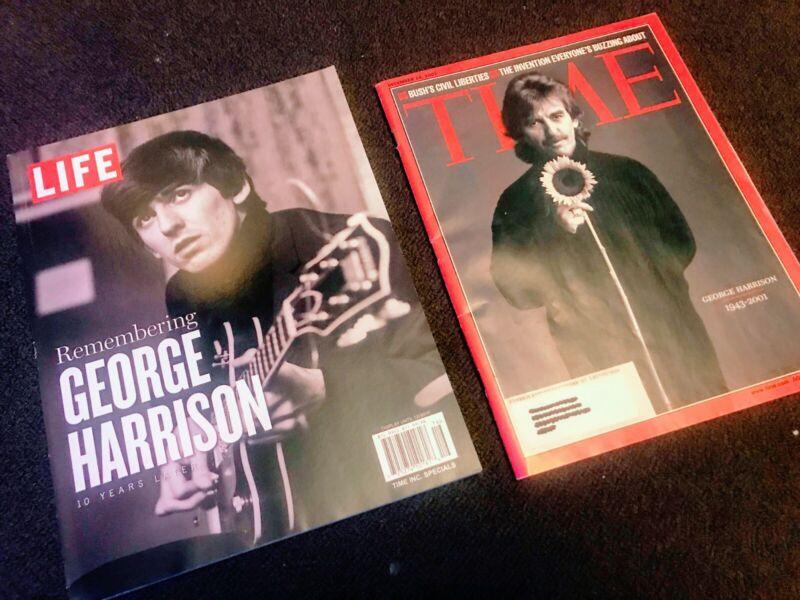 George Harrison Bundle - LIFE Remembering George H NEW, Time Magazine Dec 01