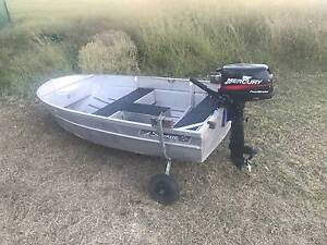 Savage Tern with 4hp Mercury four stroke motor Helidon Spa Lockyer Valley Preview