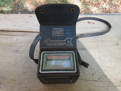 Vintage Aqua Survey And Instrument Co. Magnetic Locator And Compass Case