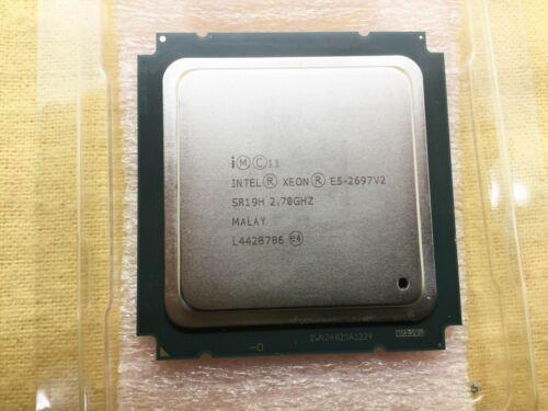 Pair of SR19H Intel E5-2697V2 2.7GHz Twelve Core (CM8063501288843) Processor