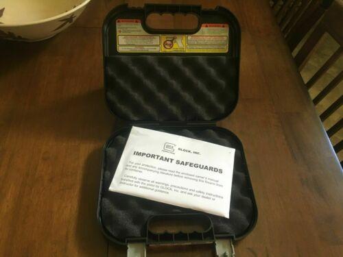 Glock Factory Clam Shell Hard Pistol Case W/ Manual**FREE SHIP**