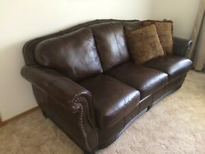 Leather chair and couch. Reduced Price