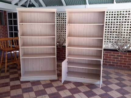 Gorgeous Light Coloured Great Quality and finish Book Shelving