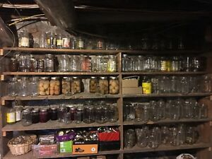 Entire canning collection for sale