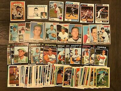 1970 1971 1972 1973 Topps Set (100) ** HIGH GRADE ** BASEBALL CARDS LOT