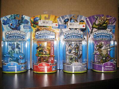 Skylanders Spyro's Adventure Lot--Warnado, Flameslinger, Chop Chop, Voodood--NEW - Chop Chop Skylander