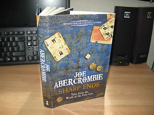 Joe Abercrombie - Sharp Ends *Signed Numbered 1st Tales World First Law sold out