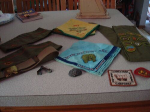 Vintage Boy Scout Assorted Items   BSA