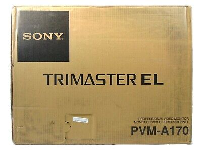 """Sony PVM-A170 17"""" Professional OLED Production Monitor - PVMA170"""