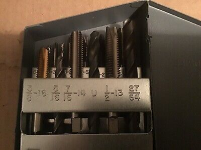 Huot Tap And Drill Index With New Nc - 6-32-36 To 12-2764 Plus Extra Taps