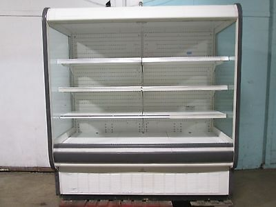 Tyler N5dsc6 H.d. Commercial Open Lighted Refrigerated Vertical Display Case