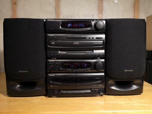 Technics Tuner/CD Changer/Cassette Deck/Amplifier, SL-CH90T & SU-CH90T