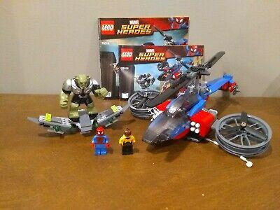 Lego Spiderman Set 76016 Spider Helicopter Rescue, Green Goblin