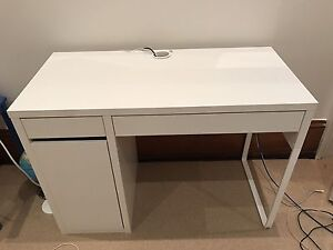 IKEA white study desk. Waverley Eastern Suburbs Preview