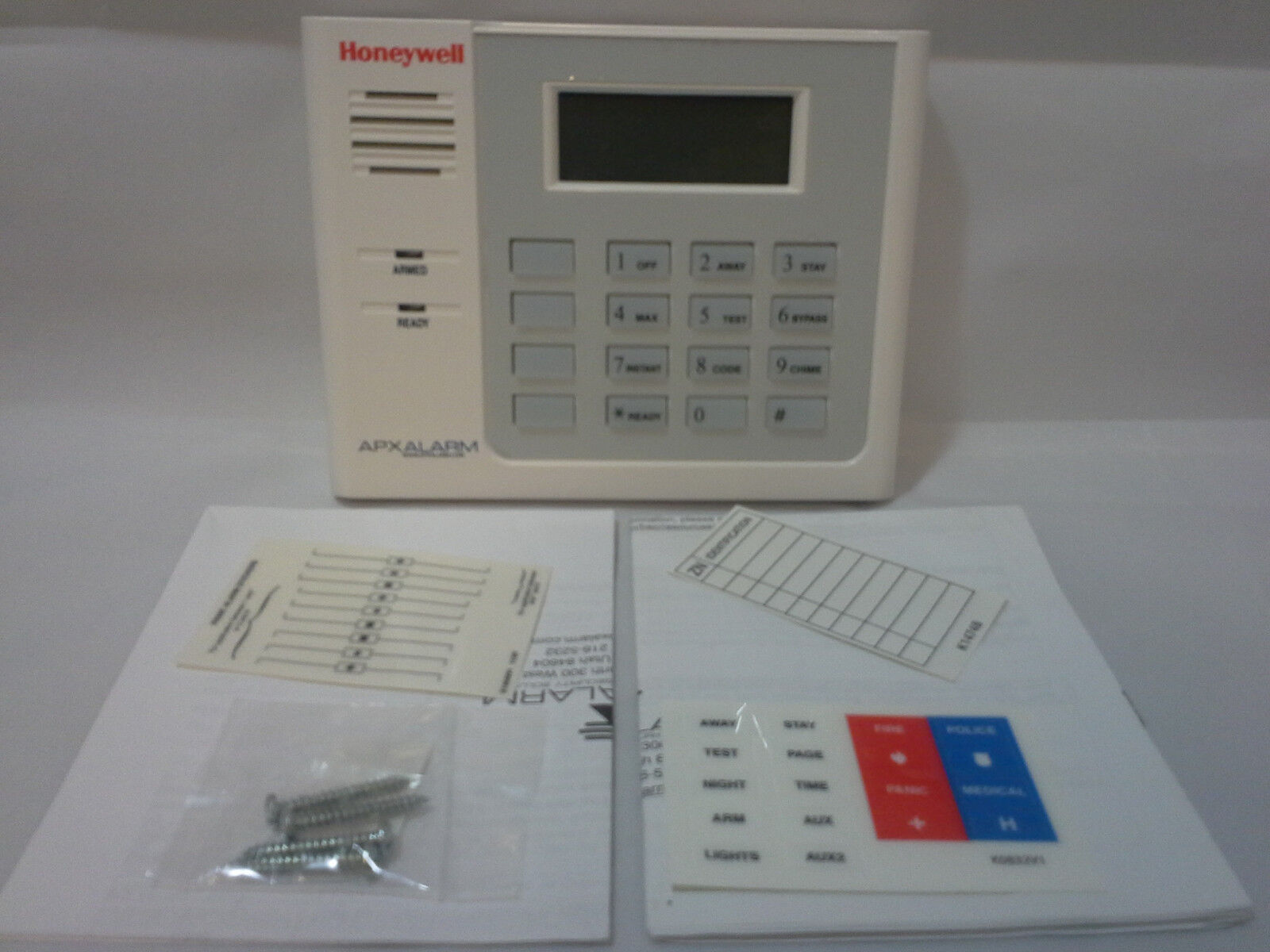 Apx honeywell ademco 6150rf keypad touchpad vista 15p 20p 21ip apx honeywell ademco 6150rf keypad touchpad vista 15p 20p 21ip wireless receiver item number 171384254879 sciox Image collections