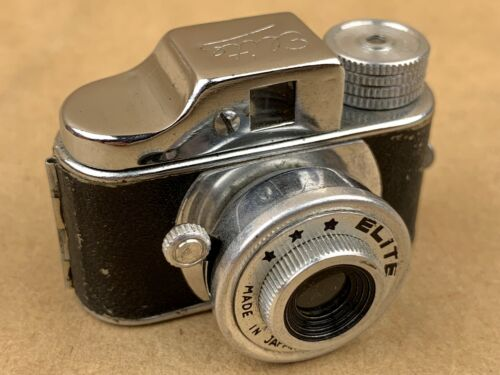 ELITE Hit Type Vintage Subminiature Spy Camera Made in Japan - Great Collectible