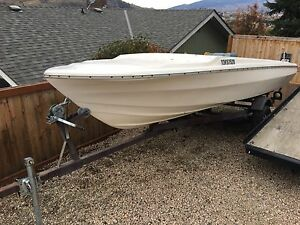 16ft Project boat with 65hp outboard