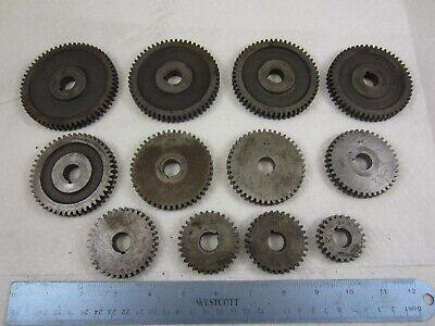 South Bend 9 Lathe Change Gear Set Of 12 Gears
