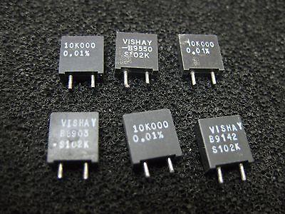 1x 10k000 Vishay S102k Series Metal Foil Resistors 0.01 10k