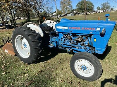 1970 Ford 2000 Tractor 3 Cylinder Gas