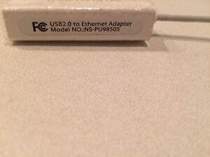 USB à Ethernet connecteur