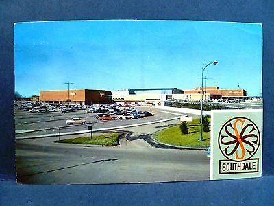 Postcard MN Minneapolis 1950's Southdale Center Mall Old (Malls Minneapolis)