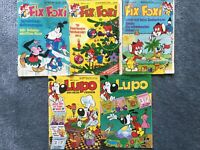Alte Comics Lupo, Fix & Foxi Niedersachsen - Varel Vorschau