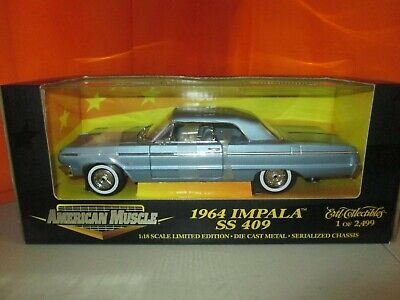Ertl Collectibles 1964 Chevy Impala SS 409 1 of 2499 LE 1:18 Diecast in Box