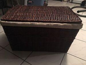 Large wicker imporium basket