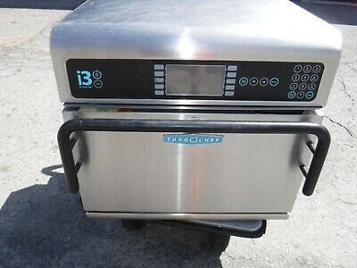 Turbo Chef I3 Electric Countertop High Speed Microwave Convection Oven Read
