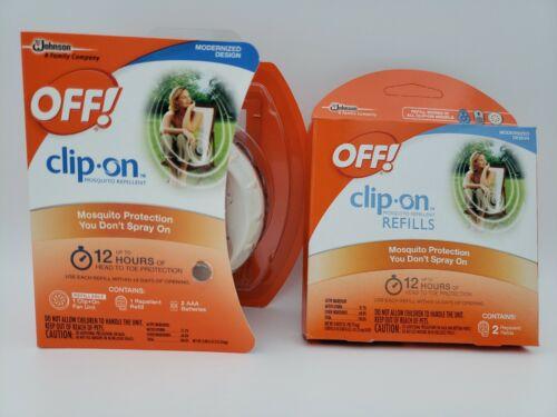 OFF! Clip On Mosquito Repellent Fan Unit 1 ea