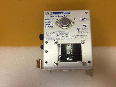 POWER-ONE HB15-1.5-A POWER SUPPLY 120V 15VDC 1.5A OUTPUT 220V AC INPUT 8 PCS
