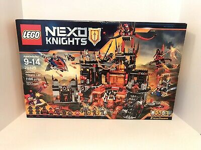 NEW LEGO Nexo Knights 70323 Jestro's Volcano Lair Set Building Toy Retired
